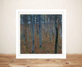 Beech Grove by Klimt Framed Canvas Art