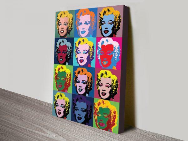 Buy Marilyn Monroe Warhol Pop Art Print AU