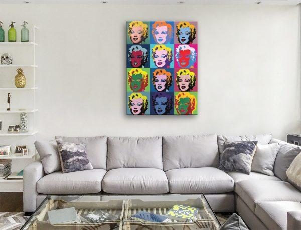Buy A Marilyn Monroe Colourful Pop Art Print