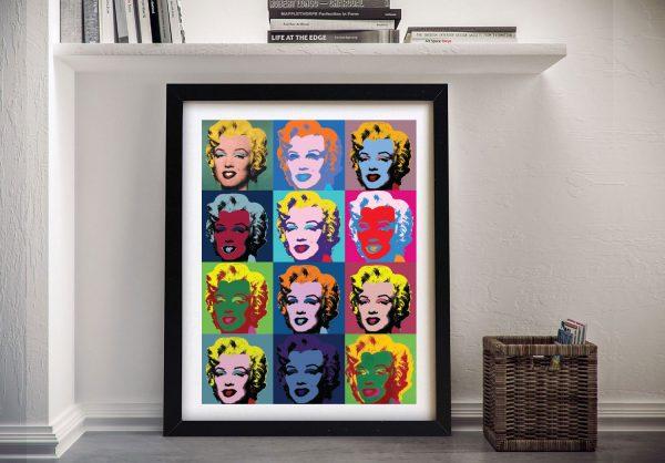 Buy A Print of Andy Warhol's Marilyn Monroe