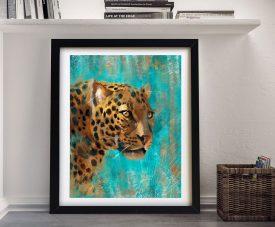 Buy a Leopard Canvas Print Cheap Online