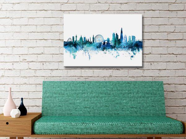 Buy Michael Tompsett London Skyline Artwork