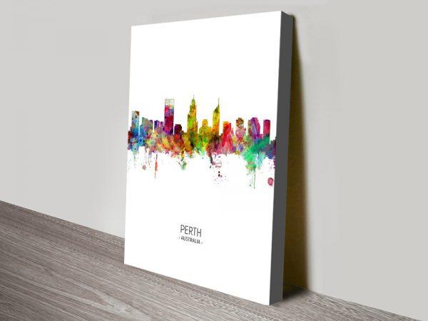 Buy Perth Multicolour Michael Tompsett Wall Art
