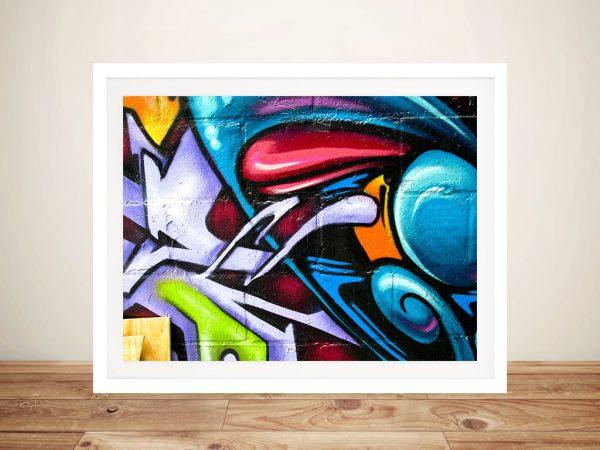 Buy Street Art Abstract Graffiti Framed Artwork