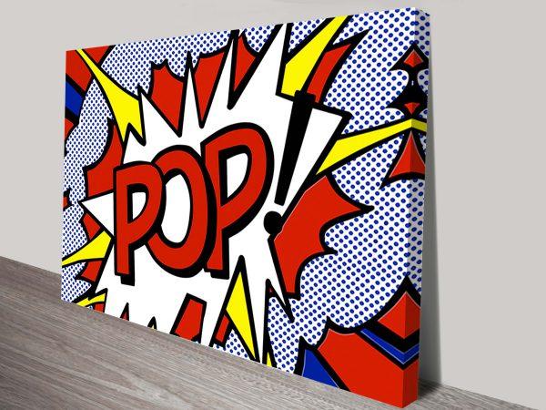 Pop Bubble Canvas Art Australia