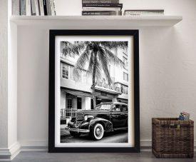 Buy Miami Art Deco District Framed Print