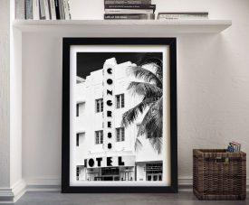 Art Deco Architecture A Framed Canvas Print