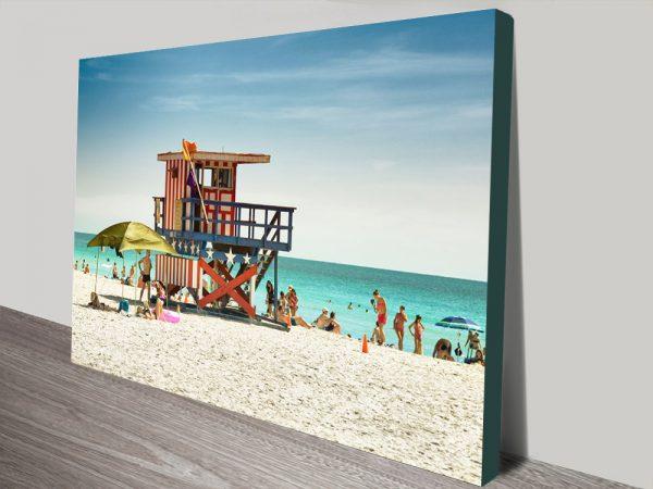 Buy American Guard Station Hugonnard Canvas Art