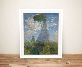 Buy Woman With a Parasol Monet Canvas Art