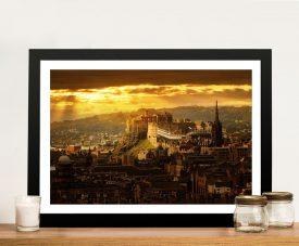 Buy Edinburgh Castle Astonishing Framed Art