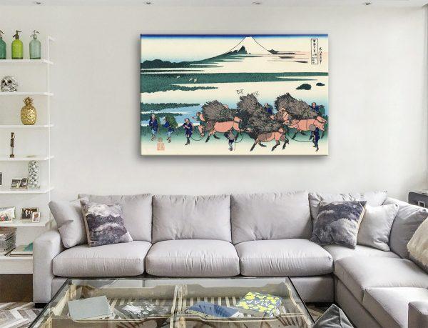 Japanese Canvas Prints by Hokusai Cheap Online
