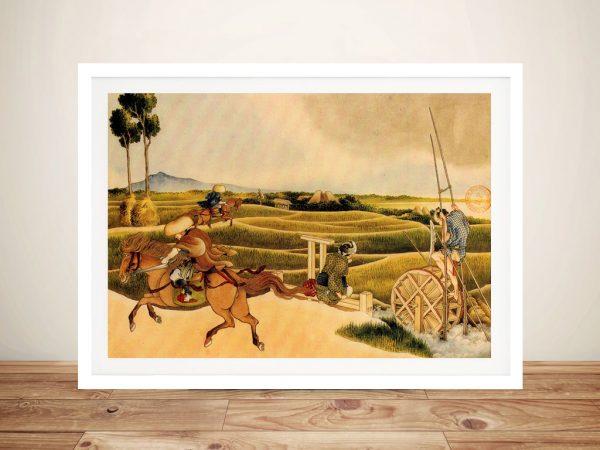 Buy Samurai Riding on Horses Canvas Wall Art