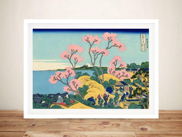 The Fuji from Gotenyama Framed Artwork