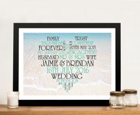 Heart Photo Word Cloud Typographic Art