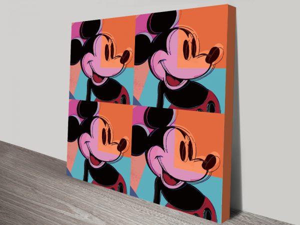 Mickey Mouse Canvas Prints Cheap Wall Art AU