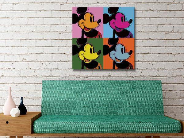 Mickey Mouse Pop Art ll Cheap Prints Online