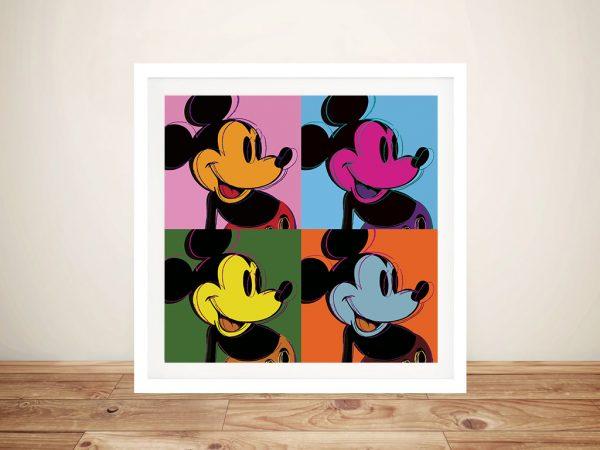 Buy Mickey Mouse Pop Art ll Canvas Wall Art