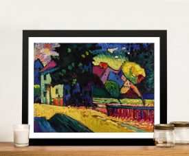Murnau A Kandinsky Abstract Canvas Print