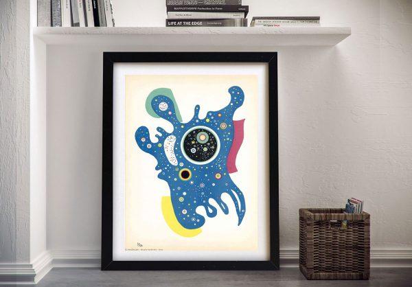 Buy Kandinsky's Stars an Abstract Wall Art Print