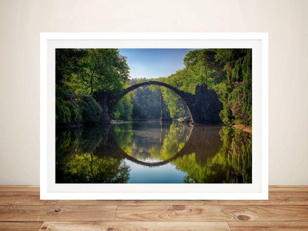Buy Circle of Reflection Framed Landscape Art
