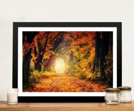 Buy A Vision of Autumn Landscape Canvas Art