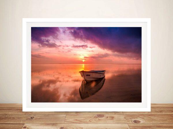 Basking in Sunrise Buy Seascape Canvas Art