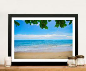Buy Perfectly Calm Framed Seascape Wall Art