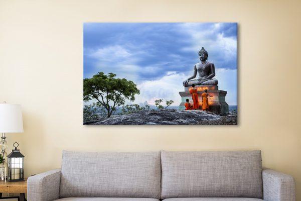Buddha Canvas Artwork Australia