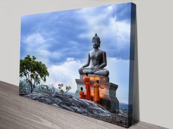 Buy Buddha Canvas Wall Art