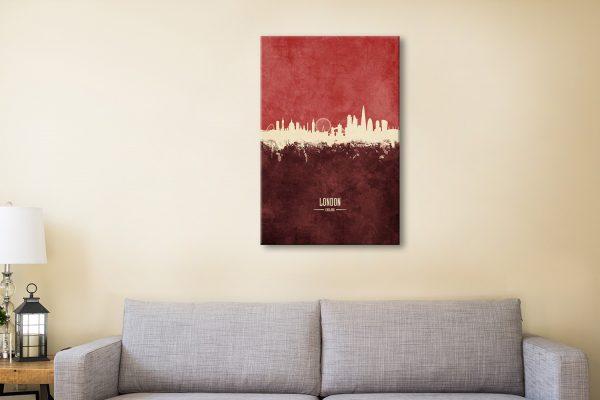 Buy London Two-Tone Skyline Unique Ideas AU