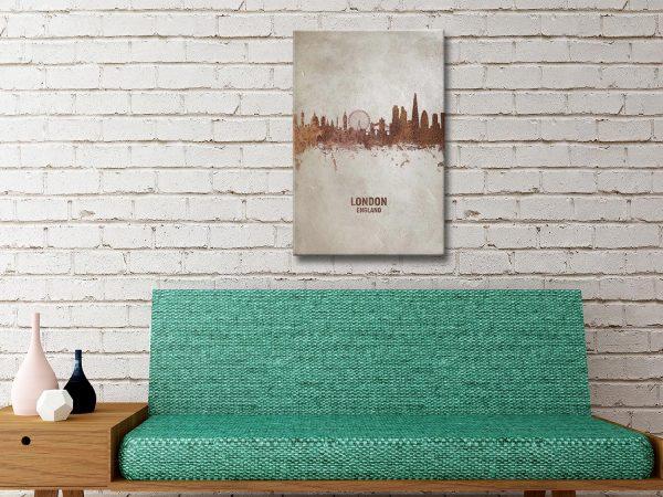 Buy London Skyline Artwork Unique Gifts AU
