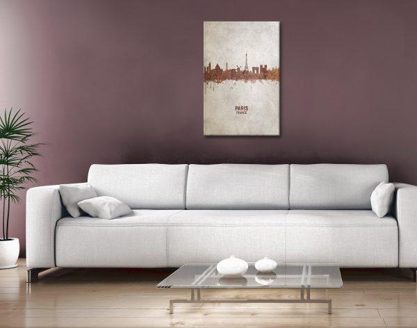 Buy Cheap Paris Skyline Canvas Prints Online