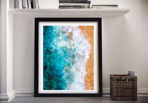 Buy An Ocean Watercolour Framed Print