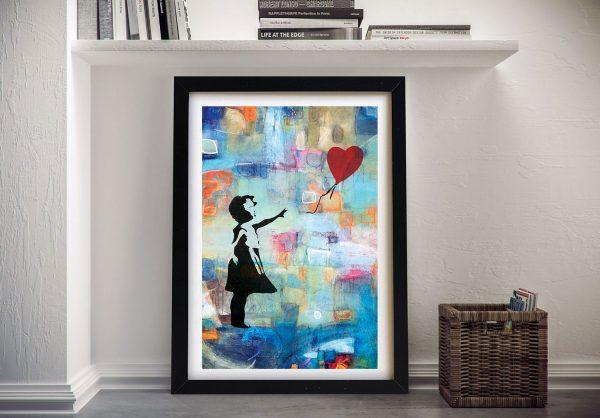 Buy Summer of Love Banksy Framed Wall Art