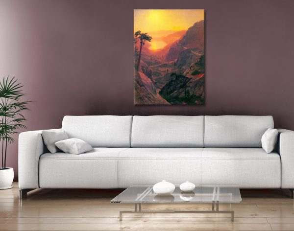 Buy Donner Lake Bierstadt Art Gift Ideas AU