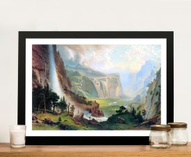 Buy Half Dome in Yosemite Framed Artwork
