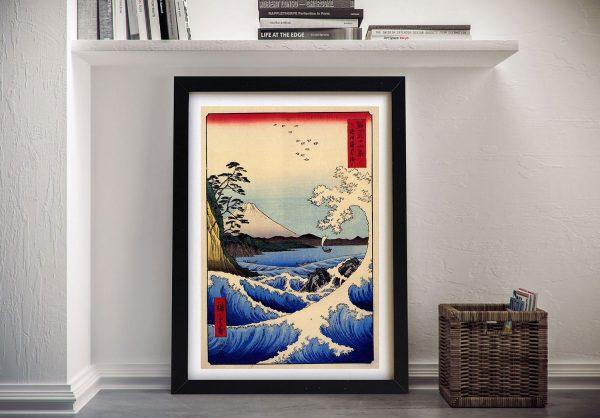 Buy 36 Views of Mount Fujiyama Japanese Canvas Art