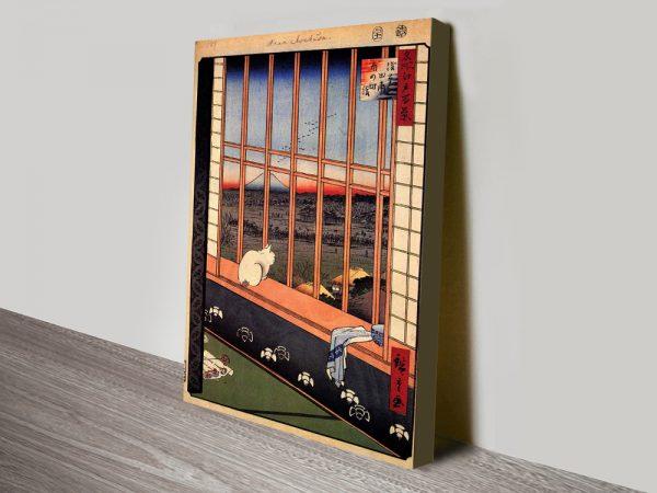 Buy Cheap Japanese Artwork by Hiroshige Onilne