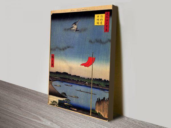 Buy Azuma Bridge Cheap Japanese Wall Art Online
