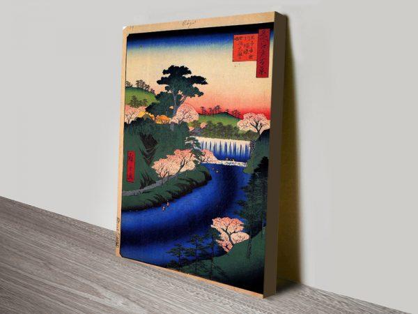 Dam on the Otonashi River Cheap Wall Art Online