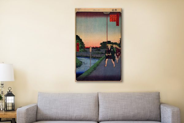 Buy Hiroshige Canvas Prints Great Gifts Online