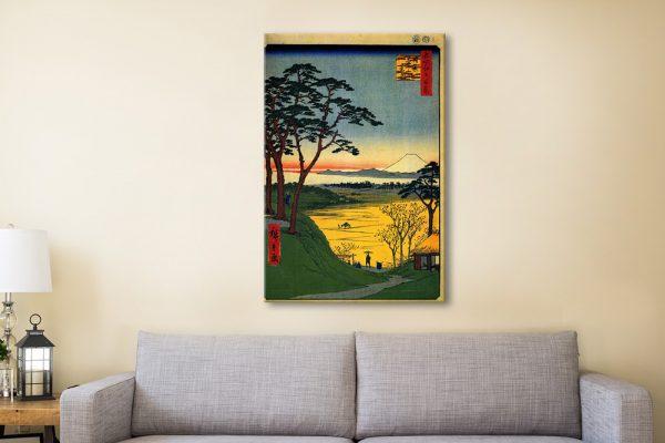 Buy Grandpa's House Cheap Hiroshige Prints Online
