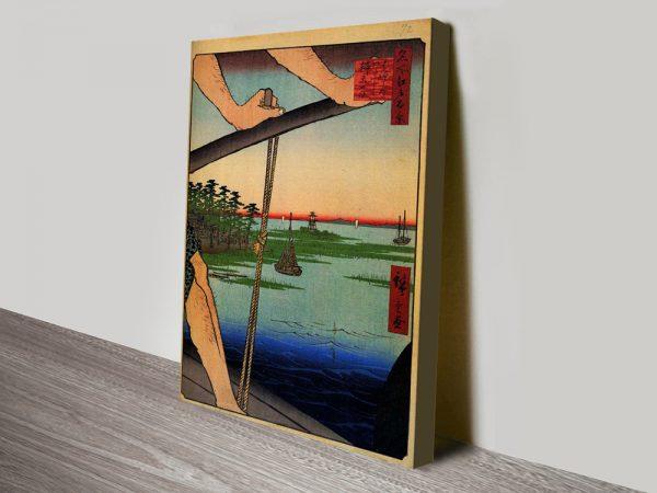 Haneda Ferry and Benten Shrine Cheap Artwork Online