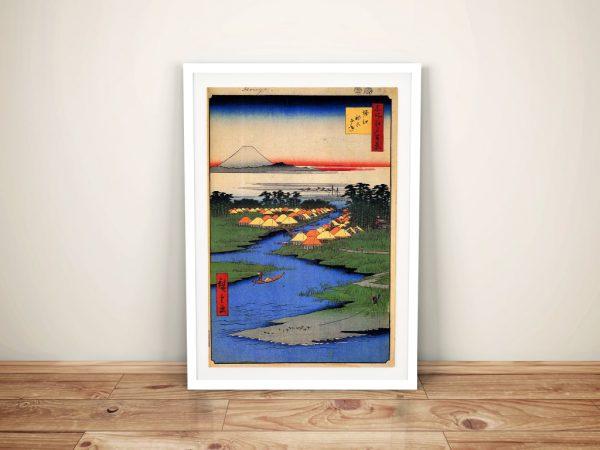 Buy a Print of Japanese Wall Art Horie & Nekozane
