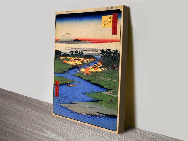 Buy Horie & Nekozane Hiroshige Print Cheap Online