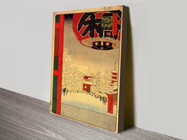 Buy Kinryuzan Temple Cheap Hiroshige Wall Art AU