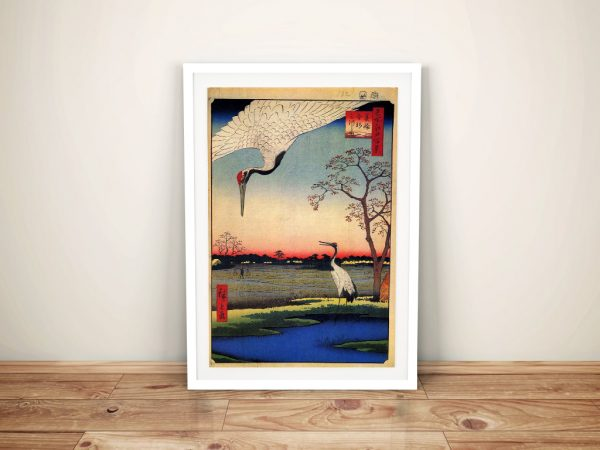 Buy a Stretched Canvas Print of Minowa Kanasugi