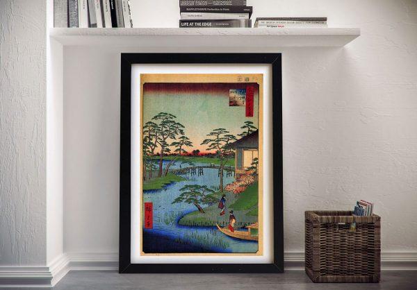Buy Mokuboji Temple Framed Japanese Wall Art
