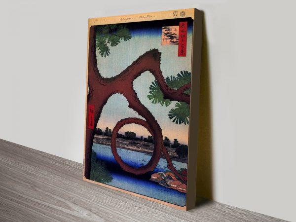 Buy Moon Pine by Hiroshige Discount Art Online