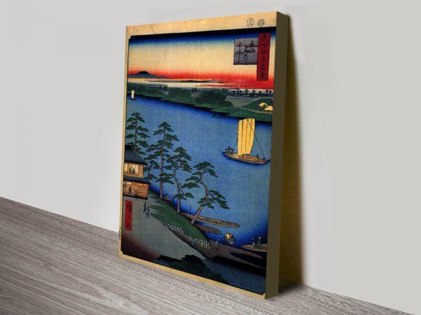 Buy Nijuku Ferry Wall Art Cheap Canvas Artwork Online
